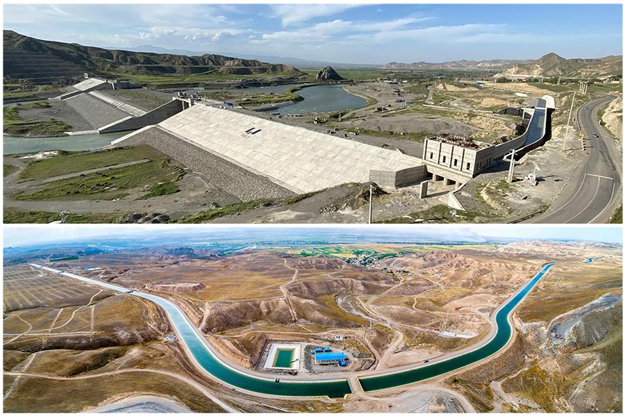 سد قیز قلعه سی آذربایجان شرقی تا پایان امسال آبگیری می شود