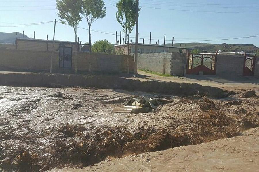 توضیحات شرکت آب منطقه ای آذربایجان شرقی در خصوص شکسته شدن سد امند یک شهرستان هریس